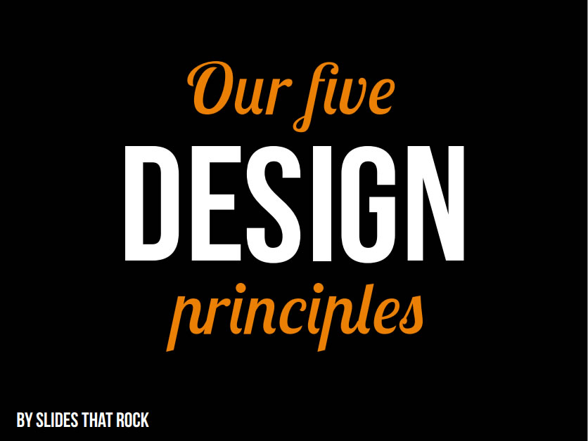 How to create SLIDES that rock (2/6)